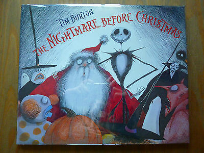 RARE 1st (FIRST) EDITION of THE NIGHTMARE BEFORE CHRISTMAS by TIM BURTON 1/1