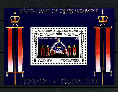 Grenadines Grenada 1977 Royal Visit MNH M/S #R473