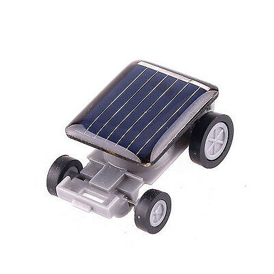 Solar Powered Mini Toy Smallest Car Racer Educational Gadget For Kids Children