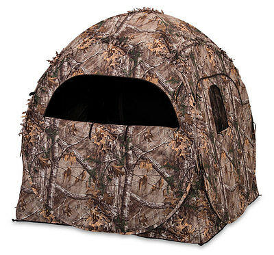 """Ameristep Doghouse Ground Blind 60"""" x 60"""" x 66"""" Polyester Realtree Xtra Camo"""
