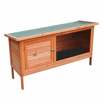 Napoli 4Ft Large Single Rabbit Hutch (Cage Pet Ferret Guinea Pig House Run)