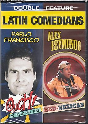 Latin Comedians Double Feature: Pablo Francisco - Ouch!/Alex Reymundo -...(2 DVD