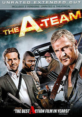 THE A-TEAM A TEAM WIDESCREEN DVD MOVIE UNRATED EXTENDED EDITION FREE SHIPPING