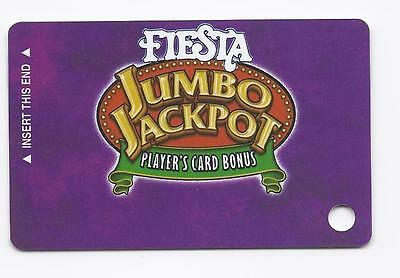 SLOT CARD / Players Club - FIESTA Casino Las Vegas - PURPLE 2004 - BLANK