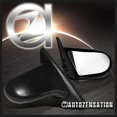 For 1996-2000 Honda Civic 2/3DR Coupe Hatchback ABS JDM Spoon Manual Mirrors