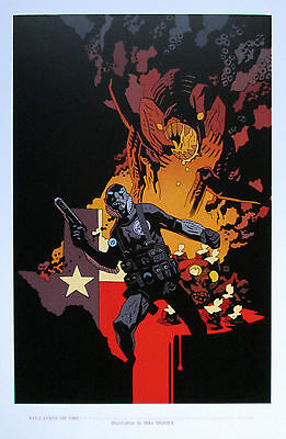 MIKE MIGNOLA HELLBOY BPRD HELL ON EARTH LIMITED FRENCH PRINT EXCLUSIVE SPLENDID!