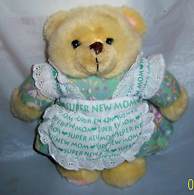 "1996 Avon Super New Mom 9"" Bear"