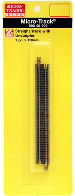 Micro-Trains MTL Z-Scale Micro-Track - 110mm Straight Magnetic Uncoupler Track