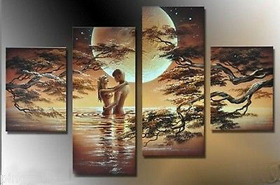 HUGE CANVAS ART MODERN ABSTRACT WALL DECOR OIL PAINTING(no framed)20