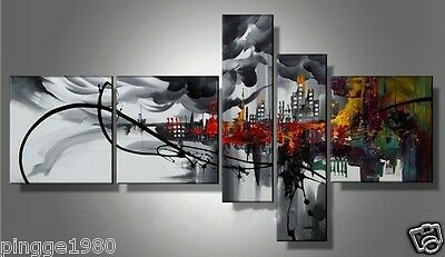 HUGE MODERN ABSTRACT WALL DECOR ART CANVAS OIL PAINTING(no framed) P060