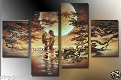 HUGE CANVAS ART MODERN ABSTRACT WALL DECOR OIL PAINTING(no framed) P081