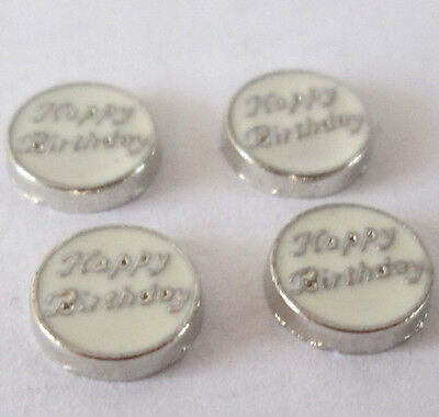 Hot sell ! 4PCS floating charm for glass living memory locket free shipping #464