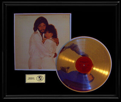 Barry Gibb Barbra Streisand Guilty  Gold Record Platinum Disc Rare Lp Bee Gees