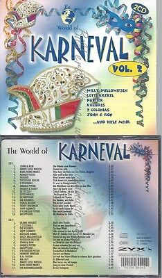 Cd--Various -- --Cd -- World Of Karneval Vol. 2