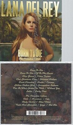 Cd--Lana Del Rey -- --Cd -- Born To Die - The Paradise Edition