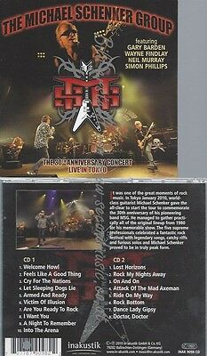 Cd--Michael Schenker Group--The 30Th Anniversary Concert Live In Tokyo | Doppel