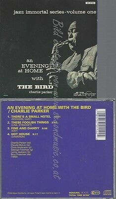 Cd--Charlie Parker -- -- An Evening At Home With T.bird