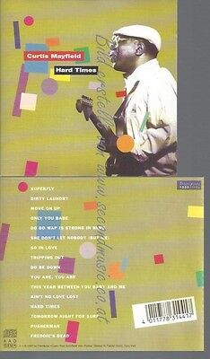 Cd--Curtis Mayfield -- --- Hard Times