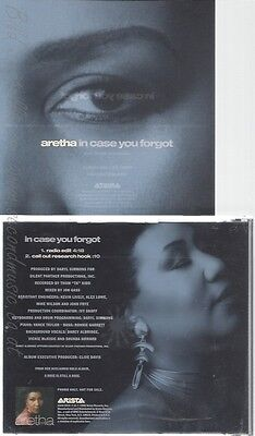 Cd--Aretha--In Case You Forgot --Promo