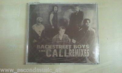 Maxi Cd--Backstreet Boys--The Call --Remixes--8 Tracks