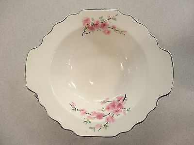 "SET 4 Lido W S George CherryBlossoms 5 1/2"""" LUGGED CERAL BOWL CANARYTONE PINK"