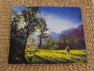 """A  NEW ORIGINAL OIL PAINTING OF """"GOLD FIELDS"""""""
