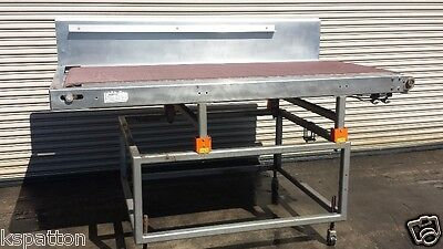 """48"""" x 90"""" Long Sorting Stacking Conveyor with sliding table"""