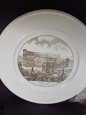Vintage Wedgwood THE ARCH OF CONSTANTINE AND THE COLOSSEUM Plate