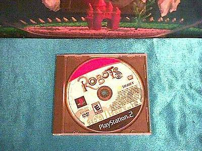 2005 Robots by Sierra on DVD for Sony PlayStation 2 PS2 * free shipping