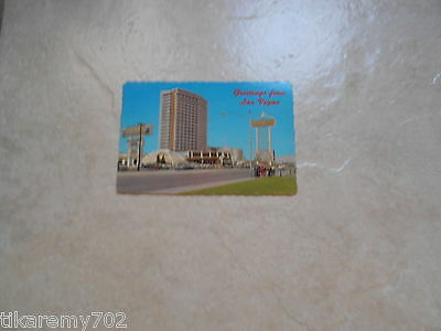 VEGAS DUNES DAY VIEW PHOTO POSTCARD STRIP NEVADA VINTAGE VIEW EARLY OLD HOTEL