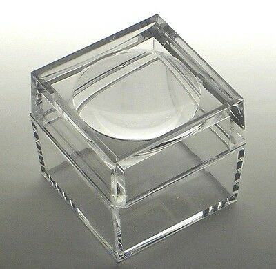 Acrylic Box with 3X Magnifier Cover Bug Box Set of 100
