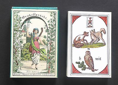 Vintage Preciosa's Oracle Fortune Telling Oracle Cards Deck