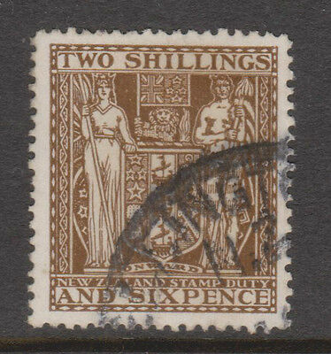 New Zealand. Stamps. Postal - Fiscal. Sc#  AR48. Watermark 61. Used.