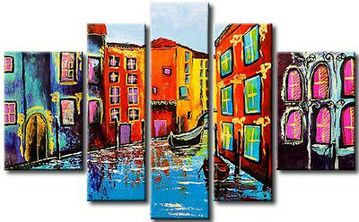 Beautiful Modern Abstract Huge Wall Decor Oil Painting 5pc (no framed)59