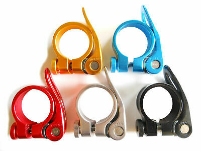 Seat Post Clamp Quick Release Alloy 31.8mm GUB CX-18