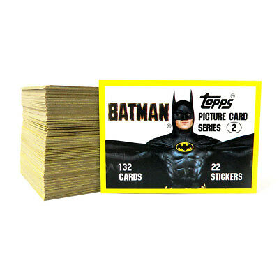 1989 Topps Batman Series 2 Trading Card Set (132) Nm/Mt