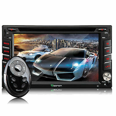"M1U 7"" 2Din LCD Car Radio DVD Player L GPS Navigation NFC Bluetooth+Map MIRACAST"