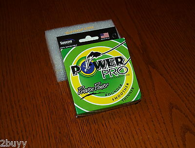 G   -POWER PRO 40lb 300 yards BRAIDED SPECTRA GREEN FISHING LINE-SHIPS FROM USA
