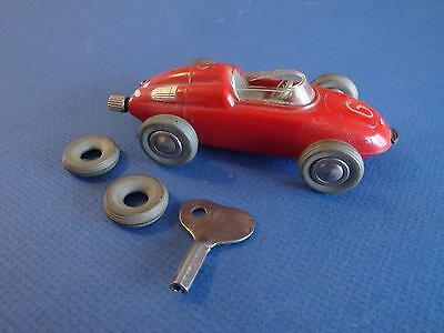 Vintage Original SCHUCO Micro Racer 1037 PORSCHE Old Toy wind up Car