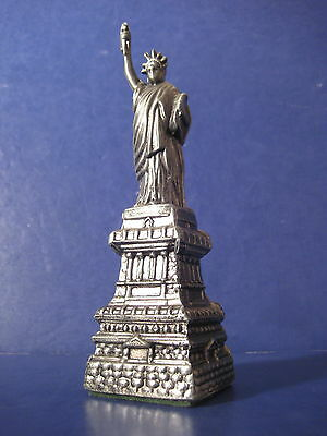 Cornell Creations Statue of Liberty Vintage Souvenir Metal Building