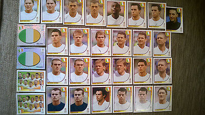 HUGE LOT OF 870 PANINI JAPAN KOREA WORLD CUP 2002 STICKERS INCL 30 IRELAND