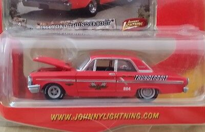 JOHNNY LIGHTNING 1964 FORD THUNDERBOLT MUSCLECARS R17 #4 RARE COLOR VHTF