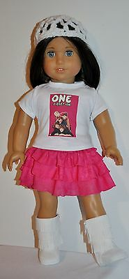 AMERICAN MADE DOLL CLOTHES FOR 18 INCH GIRL DOLLS DRESS LOT 01042A