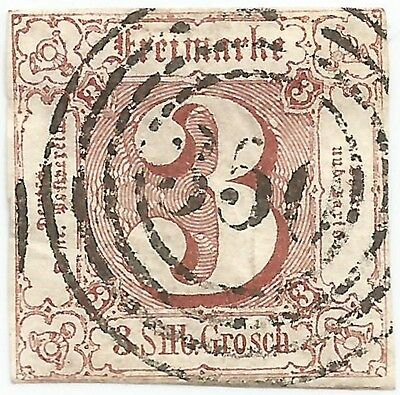 Germany German States Thurn & Taxis 1860 used stamp