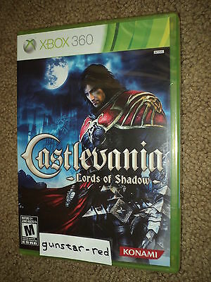 Castlevania: Lords of Shadow (Xbox 360) NEW FACTORY SEALED --- Konami Video Game