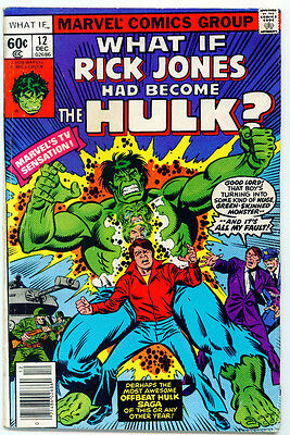 <•.•> WHAT IF... (VOL.1) • Issue 12 • Hulk • Marvel Comics