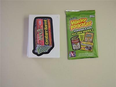 Wacky Packages * ANS 4 * ALL 55 Cards * MINT IN STOCK