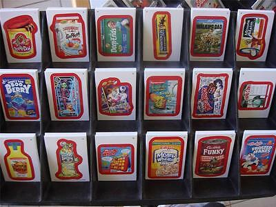 Wacky Packages ALL NEW SERIES ANS 11 128 RED CARD SET COMPLETE ALL BACK VARI