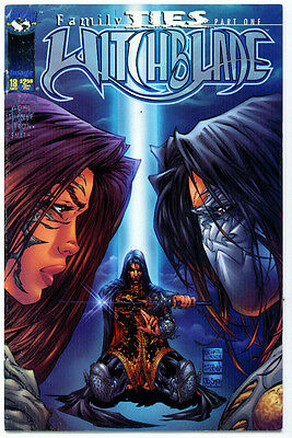 |•.•| WITCHBLADE • Issue 18 • Michael Turner Direct Variant Cover • Top Cow
