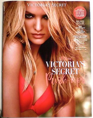 New Spring 2015 V3 Victorias Secret Catalog CANDICE Sexy Hot Models + Coupons